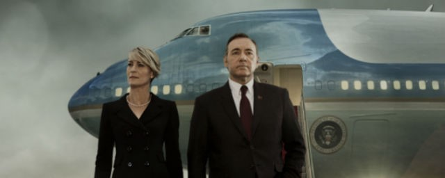 "Clair and Frank Underwood of the Netflix series ""House of Cards"""