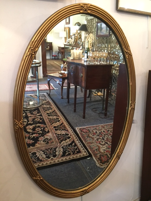 Oval Mirror with crossed ribbons.JPG
