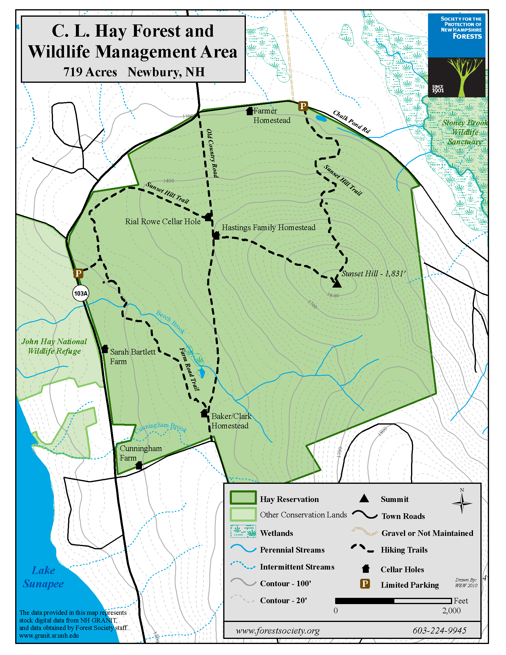 Trail Map | Click on the image to Download a PDF