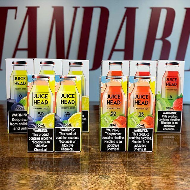 Juice Head Strawberry Kiwi & Blueberry Lemon #nicsalt & 100ml in stock at both locations ———-————— #Vaping | #VapeLife | #VapeOn | #VapePorn | #VapeFam | #Vapestagram | #VapeDaily | #VapeNation | #Vaper | #QuitSmoking | #NHVaper | #NewEnglandVaper | #WorldWideVapers | #VapeLyfe | #INSIV | #NotBlowingSmoke | #VapingSavedMyLife | #SmokeFree | #VapeLife | #FuckBigTobacco | #NotForKids