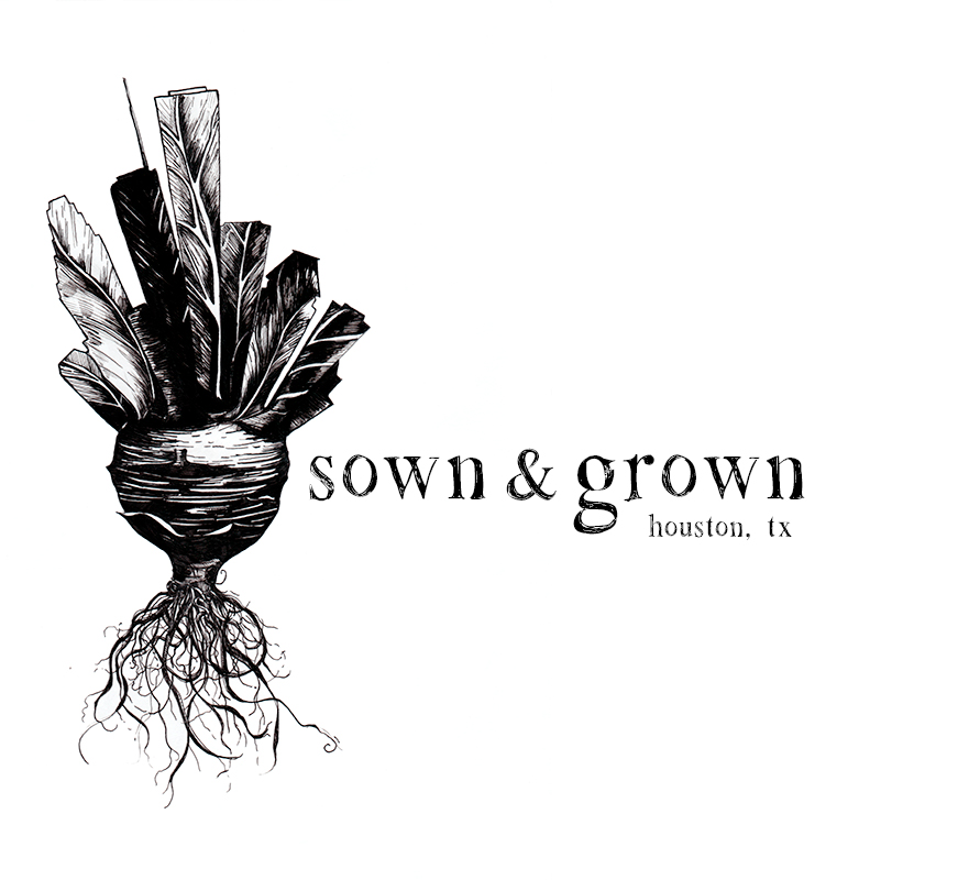 Logo for  Sown & Grown Farm  in Houston, TX