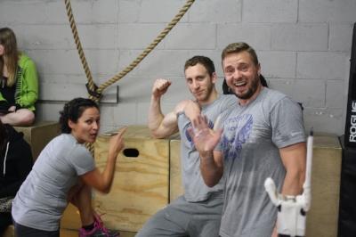 Coaches Liliana, Dean and Tom