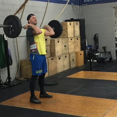 """One of CrossFit 1013's """"OGs"""", Tom G is back."""