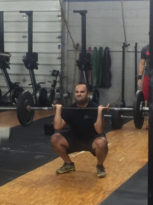 Angel Reyes - This kind of look tells you he's going all out on this lift. This is how you know an athlete is giving you all they have even if for one rep.
