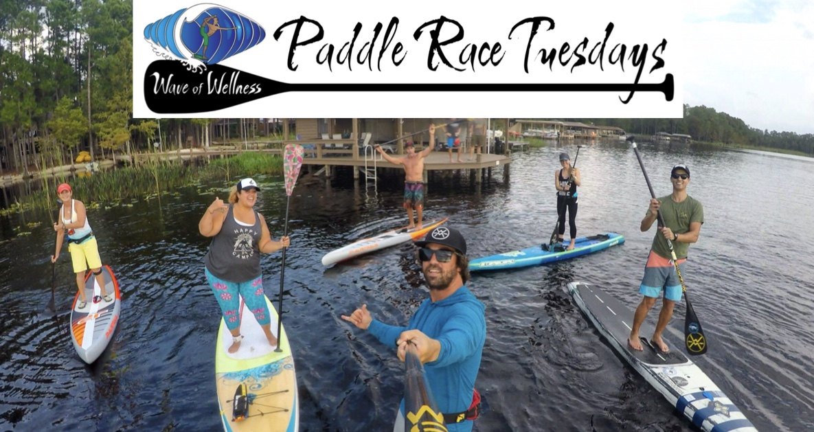 Aug 20-Sept 17, 2019 6p - Paddle Race Tuesdays at Wave of Wellness
