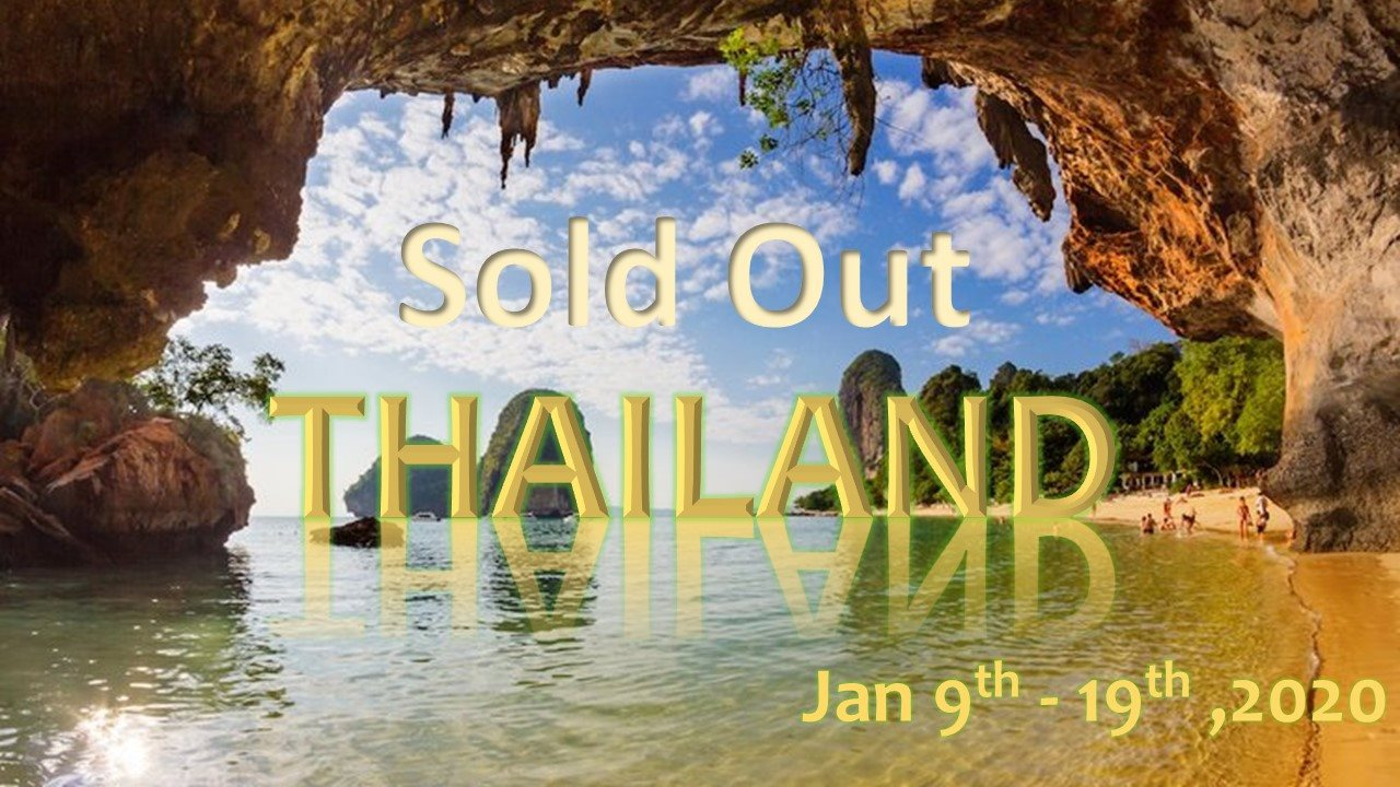 January 9-19, 2020 - Thailand Adventure in Southern Thailand