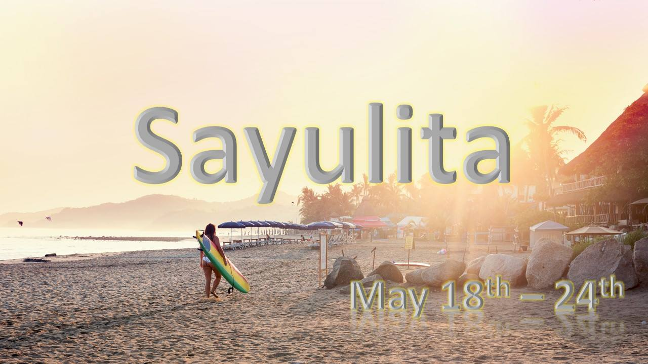 May 16-22, 2020 - Sayulita Ladies Only Adventure in Mexico