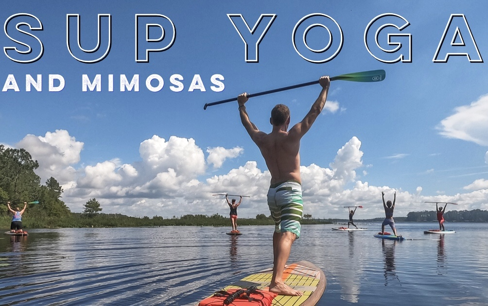 August 18, 2019 9a - SUP Yoga and Mimosas at Wave of Wellness