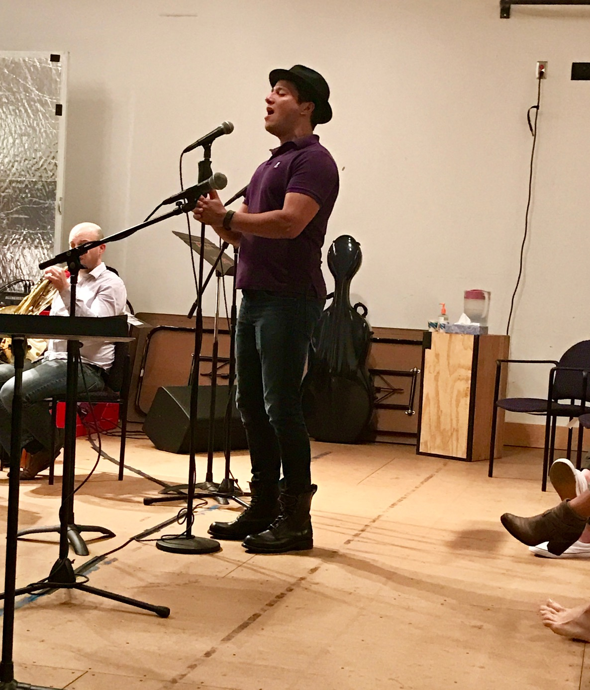 Star Nick Rodriguez in rehearsal on Oct. 18!!