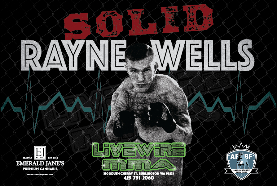 4' x 6' Vinyl Banner for LiveWire MMA event
