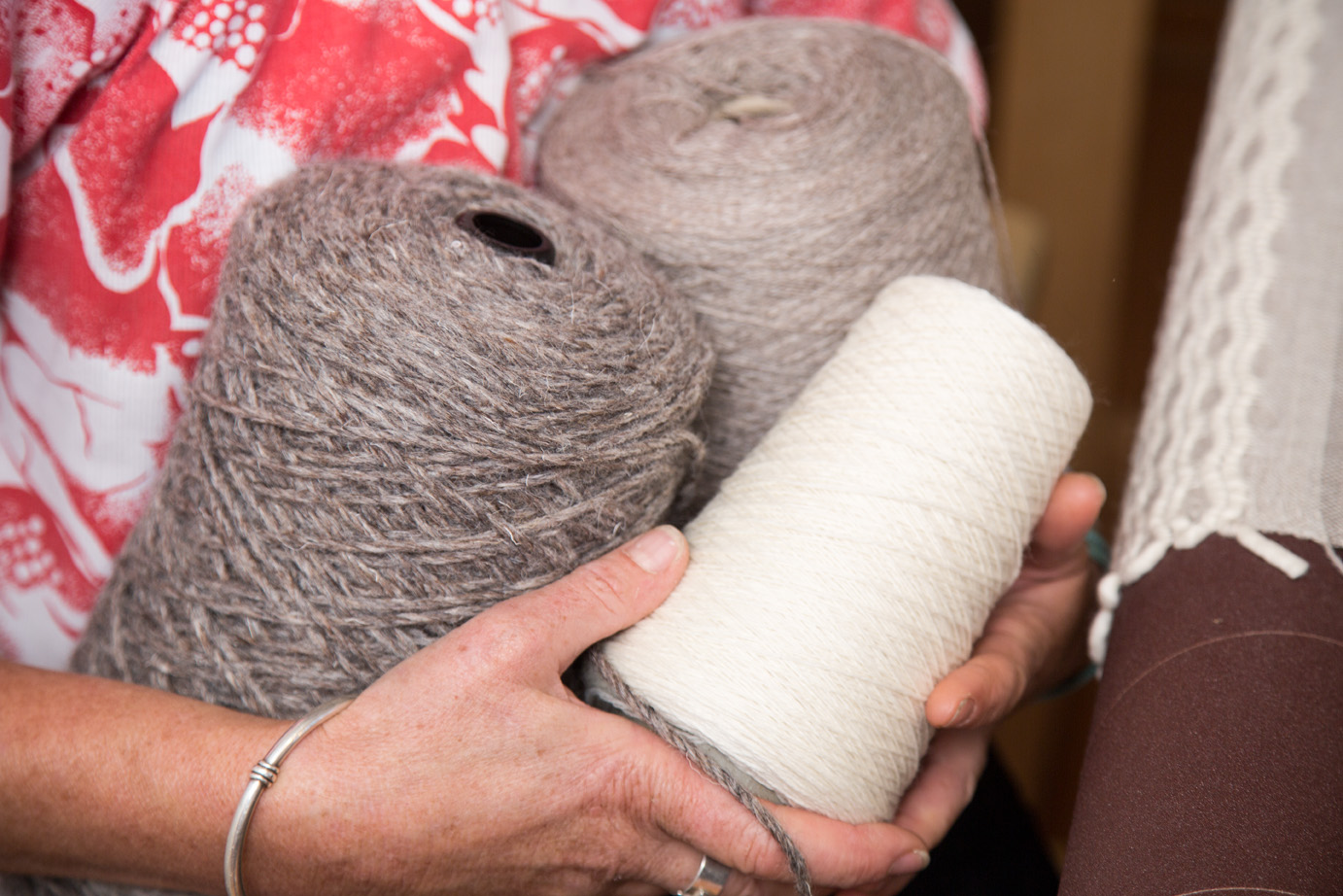 HERO Yarns   Sourcing fine and strong undyed wool yarns, grown and processed in New Zealand, is fundamental to the quality of Niche's woven products. My hero yarns are from Corriedale sheep, raised and mill spun by   Anna Gratton Ltd   in Fielding, Manawatu; Romney lambswool from   Palliser Ridge   near Pirinoa in South Wairarapa, and yarn spun in Milton with wool from Romney sheep raised by Sue and Stuart Albrey at   Fine Fibre Farms   near Waimate, South Canterbury - their homemade blackberry jam is almost as good as their wool.