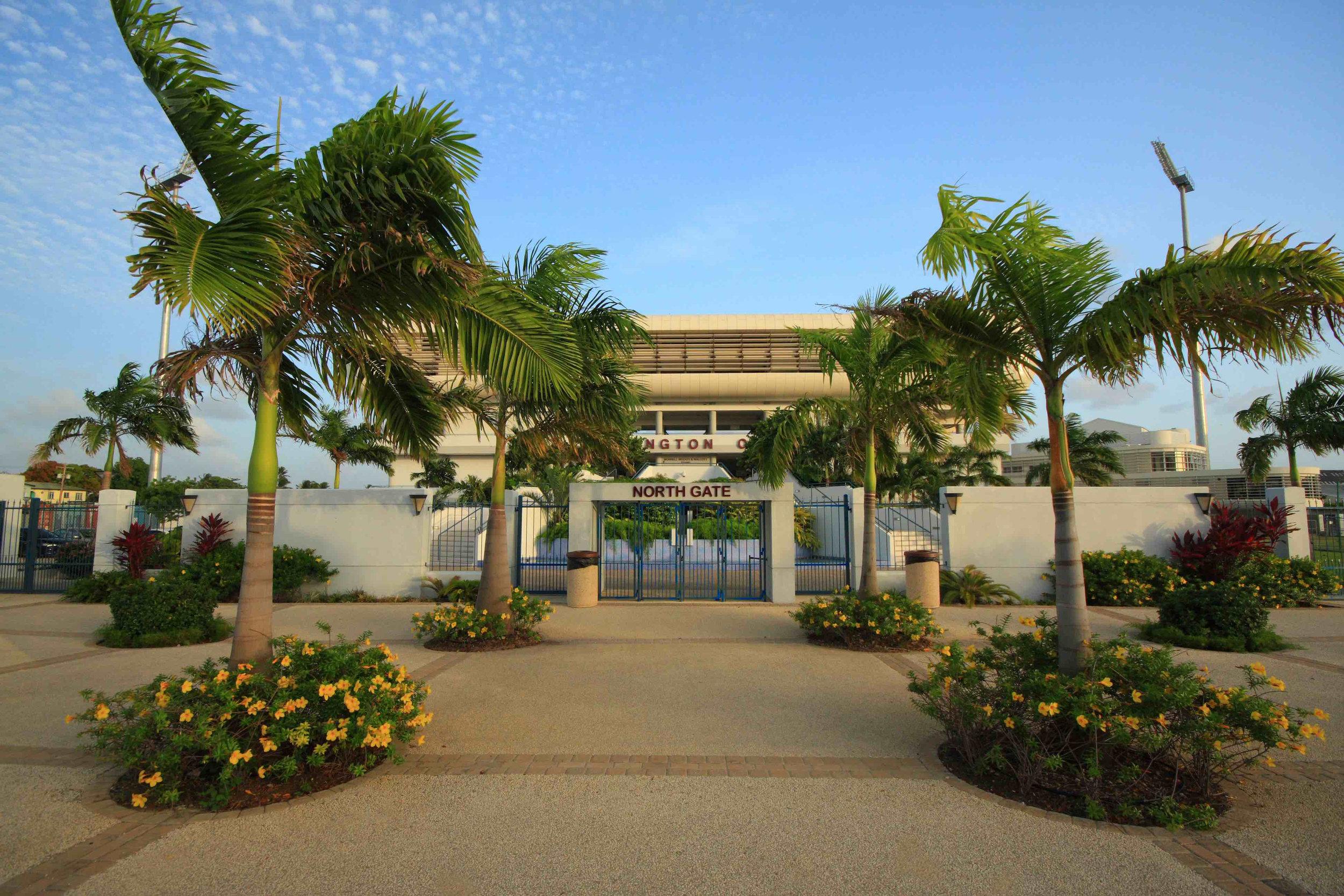 Kensington Oval Barbados Cricket Field designed by landscape architect andre kelshall