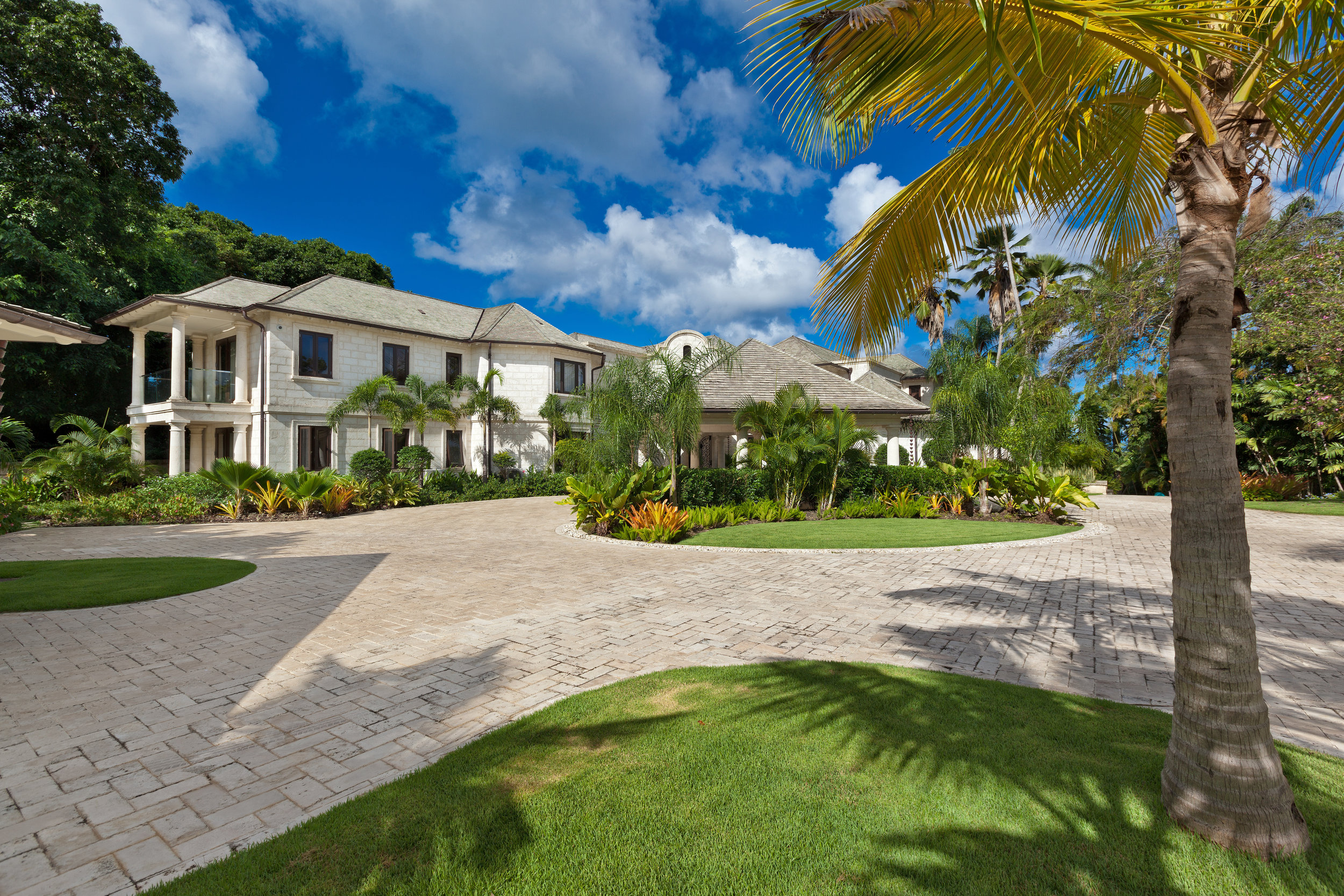 Sanzura Villa on the West Coast of Barbados designed by Andre Kelshall