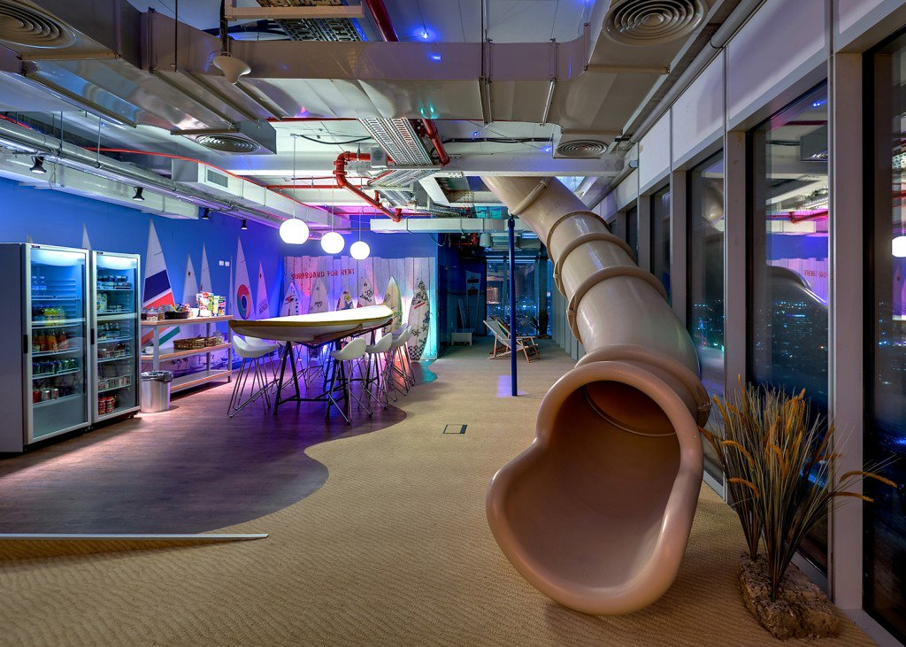 Is a slide like Google's too much for your office?