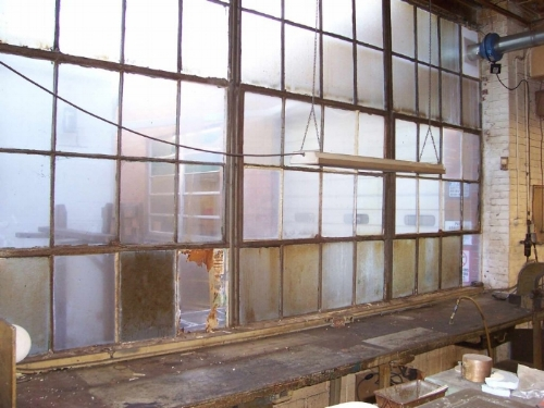 Solution:  Updating your single-pane windows to energy-efficient double-pane windows may not exactly pay for itself, but you'll reap tons of rewards. You'll lose the drafts and your employees will lose the indoor gloves, scarves and frowns.