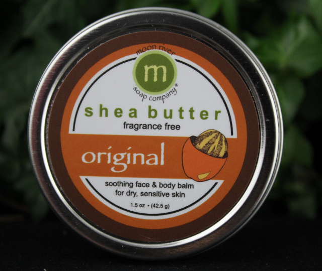 Shea butter body balm at  Moon River .