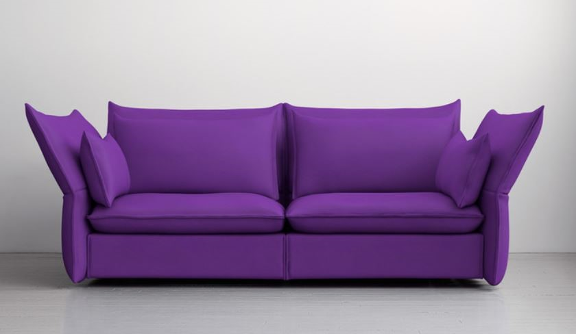 Maharam Fabrics does a fabulous job at creating bold color pigments like no other. Maharam's Aria line shows off the Ultra Violet color with a 100% Cotton textile. Their Hallingdal, Tonus, and Waterborn lines by Kvadrat represent great Ultra Violet options too.
