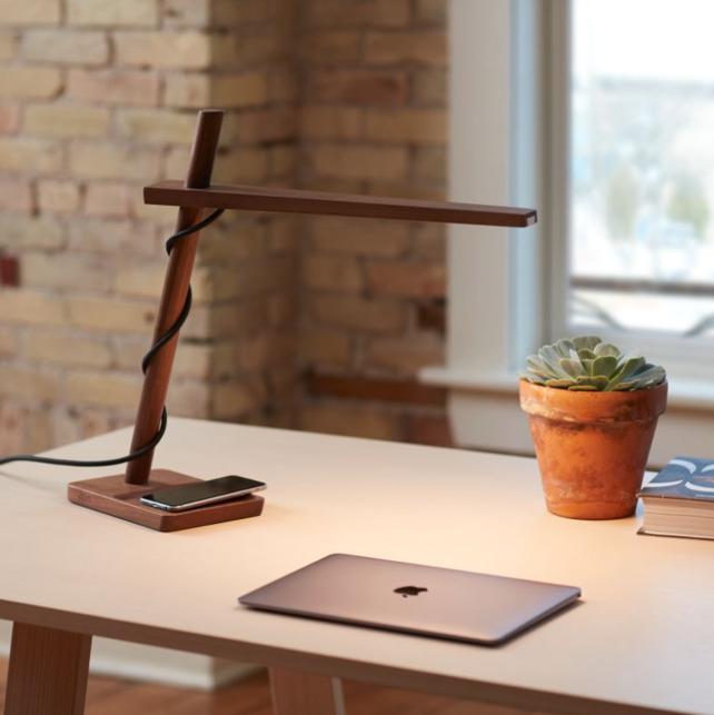Clamp desk lamp