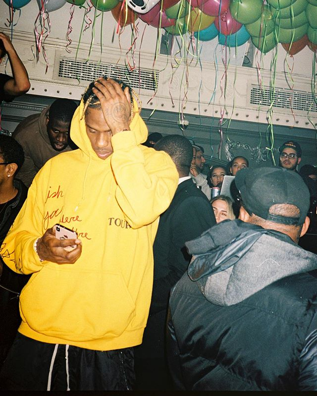 🚀LAST NIGHT🚀unforgettable times at the #Astroworld Official After Party with @travisscott, @ogchaseb, + friends🎢 #UADNYC (📸: @jockograves)