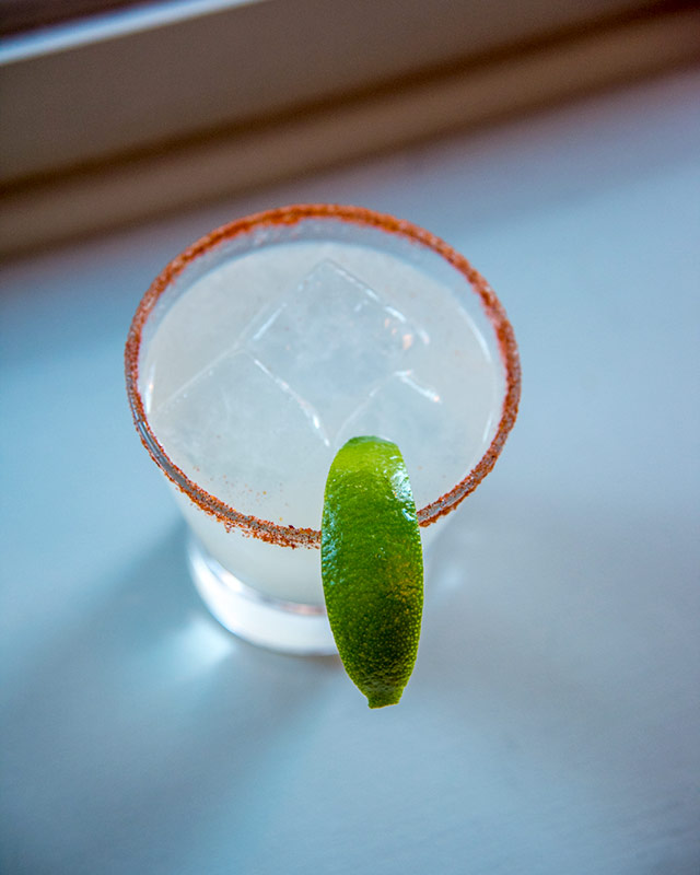Ingredients:blanco tequila, Calabrian chili triple sec, lime