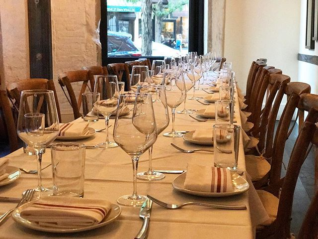 Don't forget, we accommodate large groups and private parties.  Contact events@rossonyc.com for more info! 🎉 #rossonyc