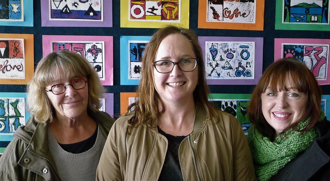 Kathy Boyle, Nicol Sanders-O'Shea, Lynette Fisher