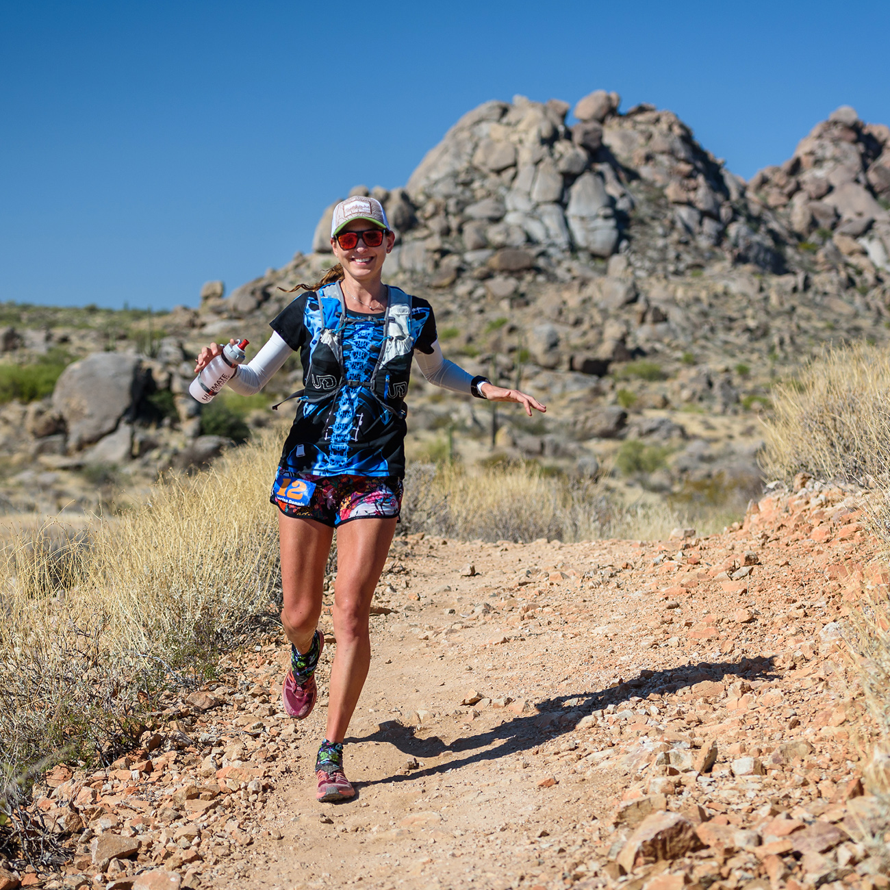 Javelina Jundred 100 Mile Endurance Run, October 2017. Photo courtesy of  Howie Stern .