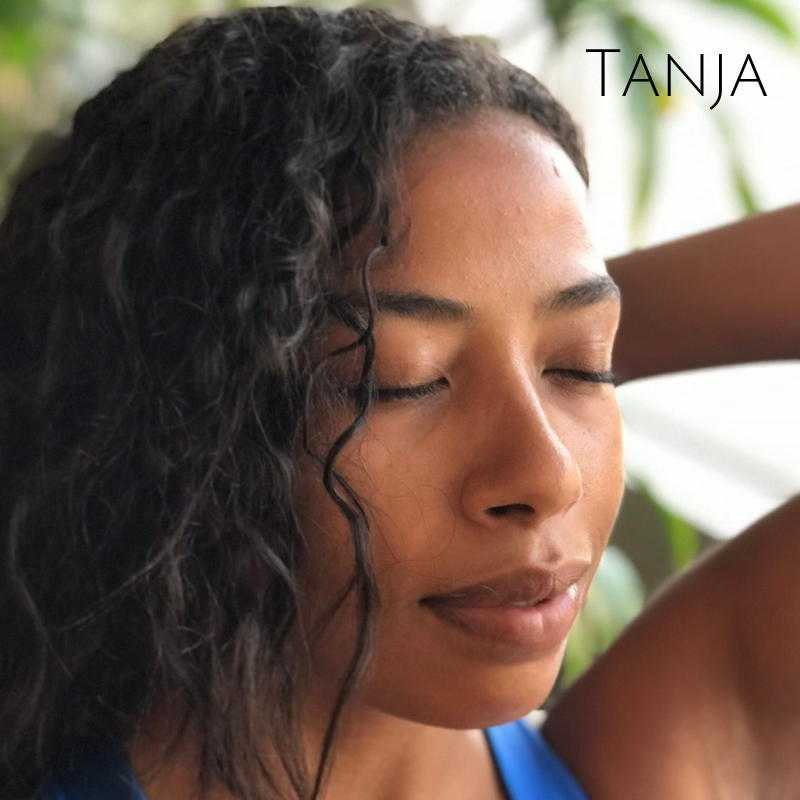 Tanja Nachtigall  Tanja offers all bodies a heart-centred, alignment-based practice. Integrating concepts of hatha and vinyasa yoga and yoga nidra, her classes leave students nourished and refreshed, with the strength and awareness needed to practice safely and confidently.  With over 5 years of committed practice and over 250hrs of training, Tanja looks forward to welcoming students of all paths to join together on their mats for this journey to self realization and inner peace. Namaste!