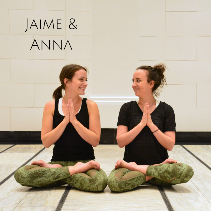 Jaime Schmidt-Little   Jaime started practicing yoga seriously in 2014. She began with the practice of acroyoga, which appealed to her fitness-loving side! Since then she has fallen in love with all aspects of all kinds of yoga. She has completed her 250-HR Vinyasa YTT at Luna Yoga as well as 32-HR of Pre-natal YTT with Little Lotus Yoga and 100-HR Acro YTT with AcroYoga Montreal. Yoga quickly moved from a fun past time to plan A in Jaime's life and she hopes to share this love and excitement with everyone who takes part in her classes!   Anna Kowaleski   A practitioner and teacher of both yoga and Acroyoga, Anna has made her mission to share her passion on and off the mat, with focuses on community, kindness and joy. Through working together with others and tapping into our own inner strength, she believes that yoga is an incredibly powerful practice that can provide healing, growth and happiness. Anna received her 250hr teacher certification in 2017 from Luna Yoga Montreal, and her Acrovinyasa certification in May 2017 from YogaBeyond.