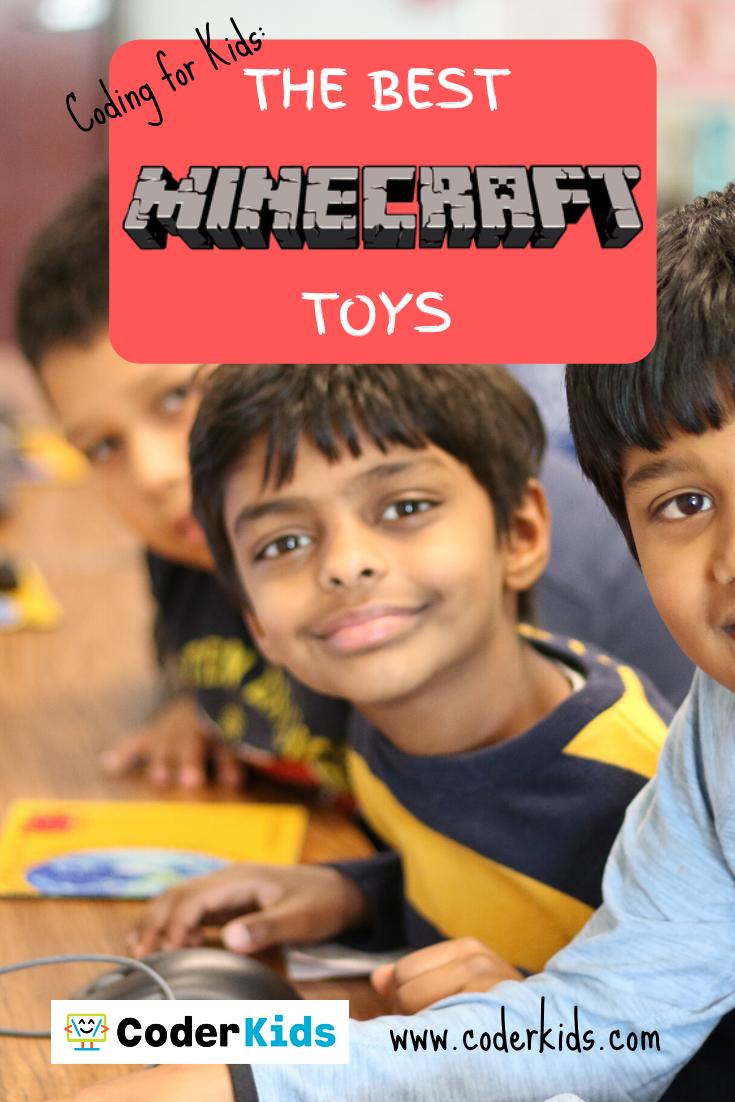 Best Minecraft Toys for Kids  Coder Kids