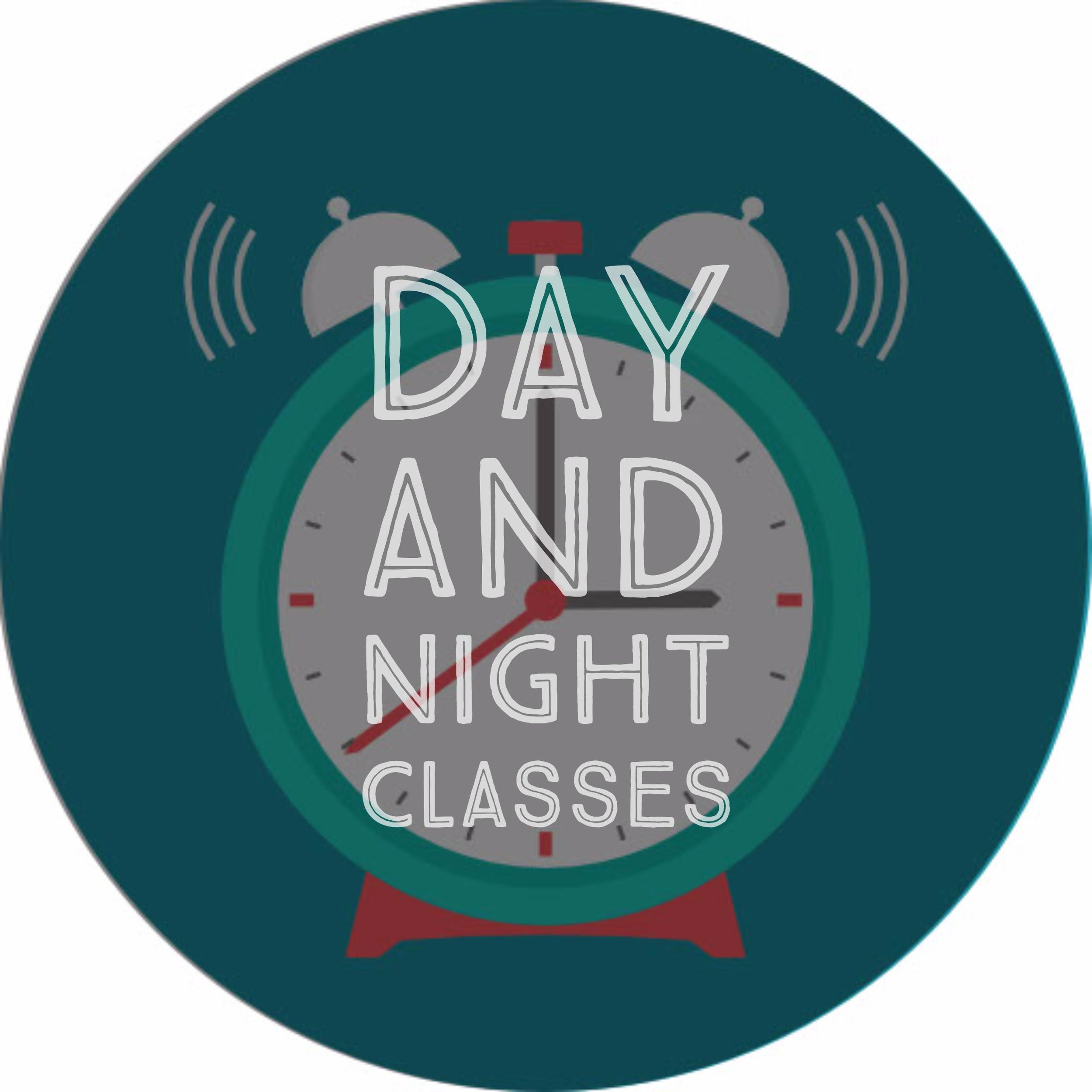 Convenient Day and Evening Classes to Fit Your Schedule