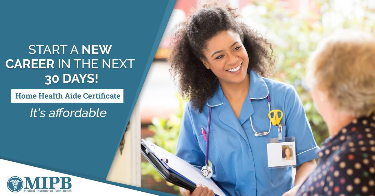 Home health aide certificate