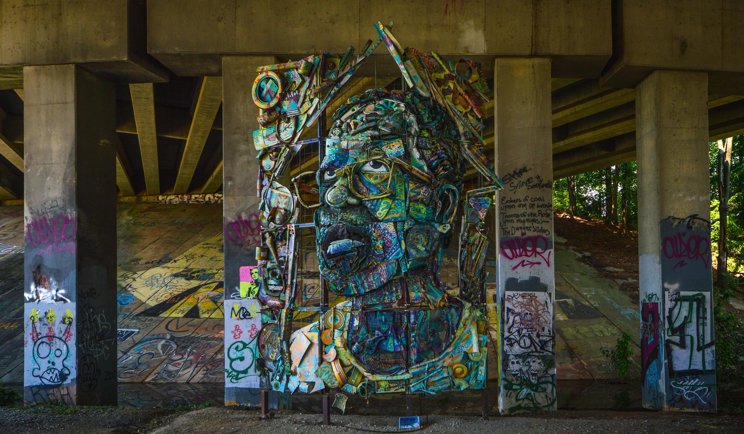The Art of Reconciliation, William Massey -Eastside Beltline, 2015