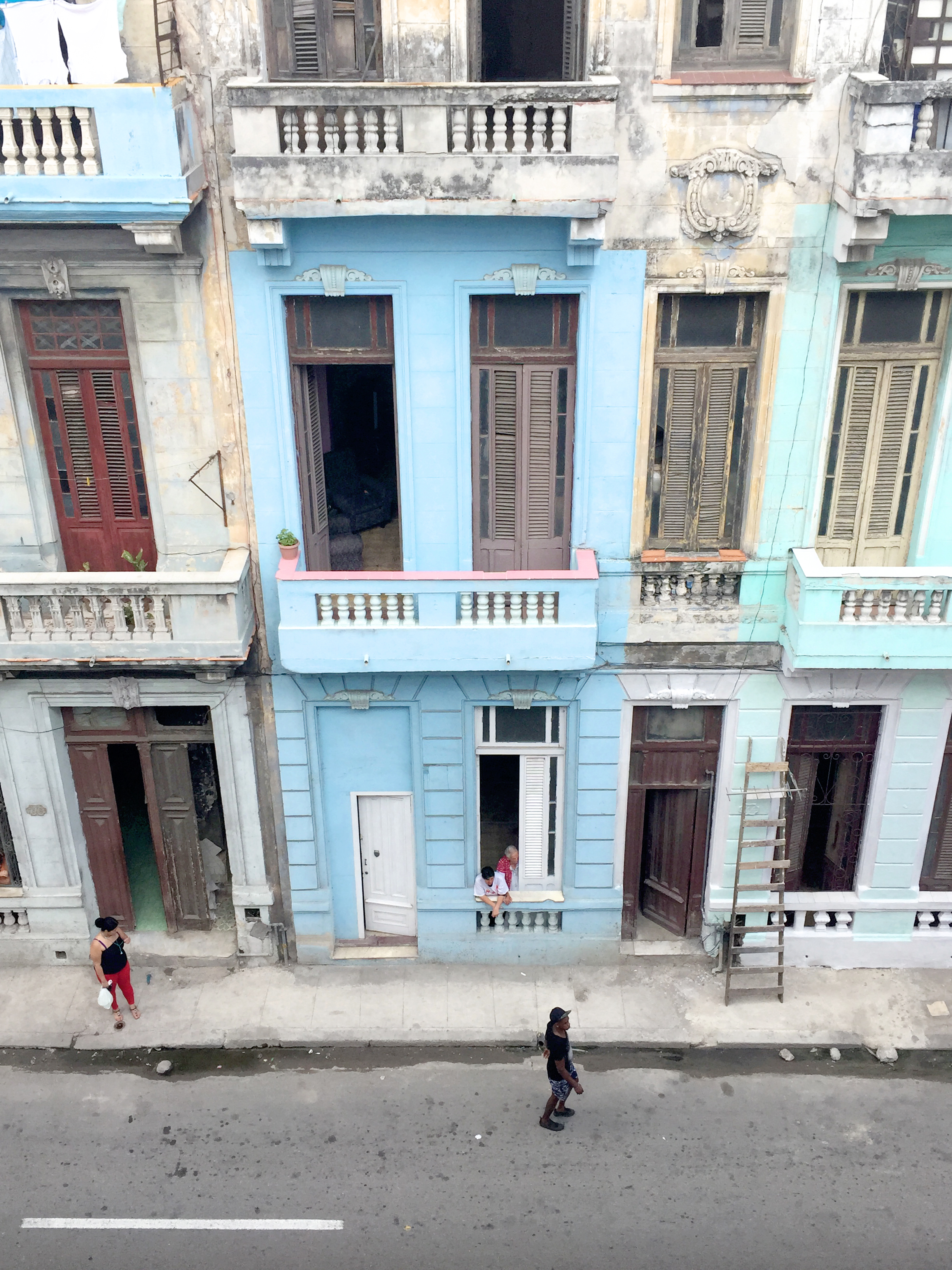 View from my Casa Particular on San Lazaro, Centro Habana