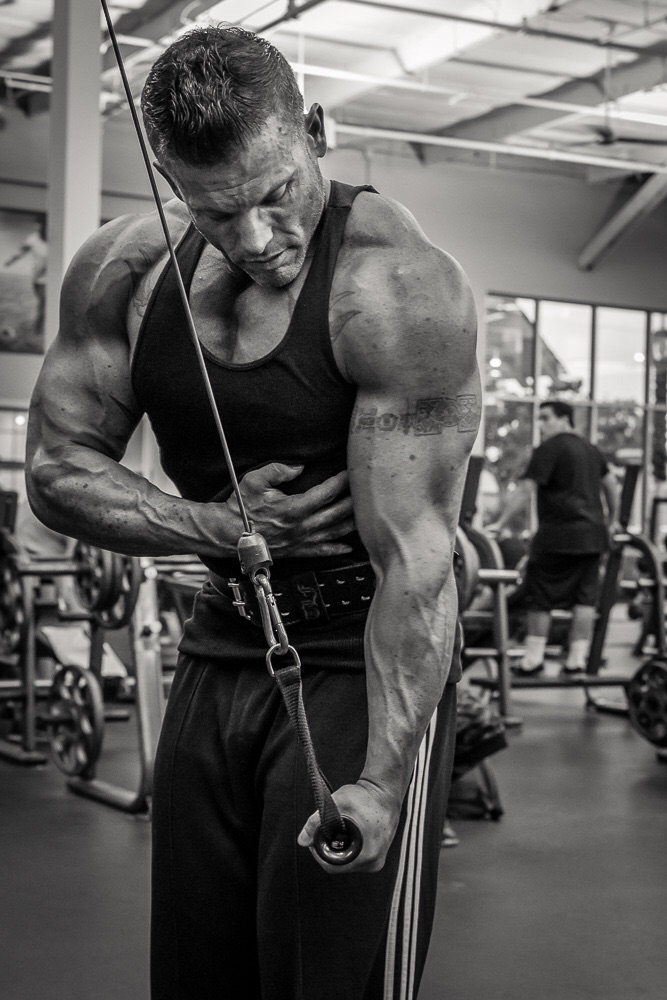 Cable Tricep Extensions