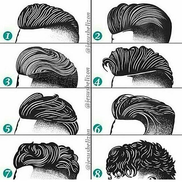 What's your favourite? #menscuts #mensfashion #hairstyles #lovethem