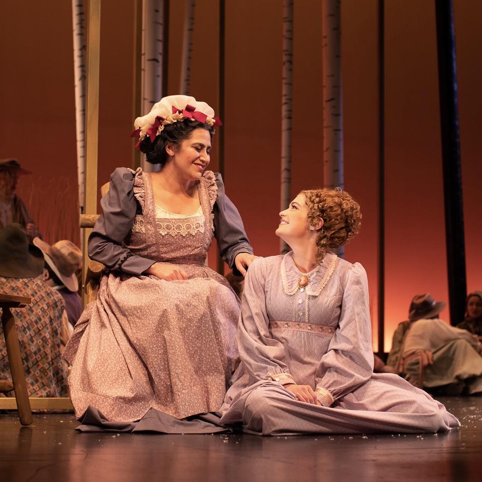 Olga : Eugene Onegin (Opera Santa Barbara)