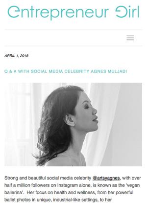Entrepreneur Girl, April 2018