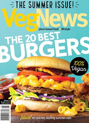 VegNews, July 2018