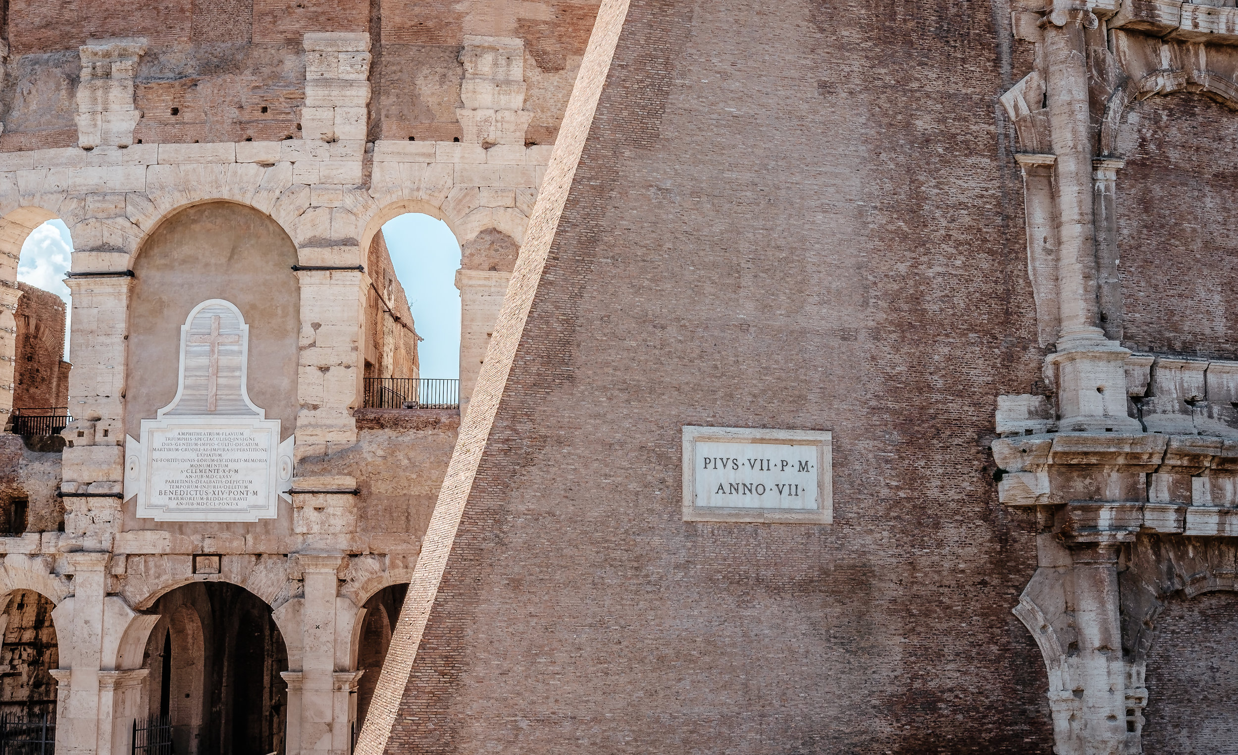 The Colosseum; Rome, Italy