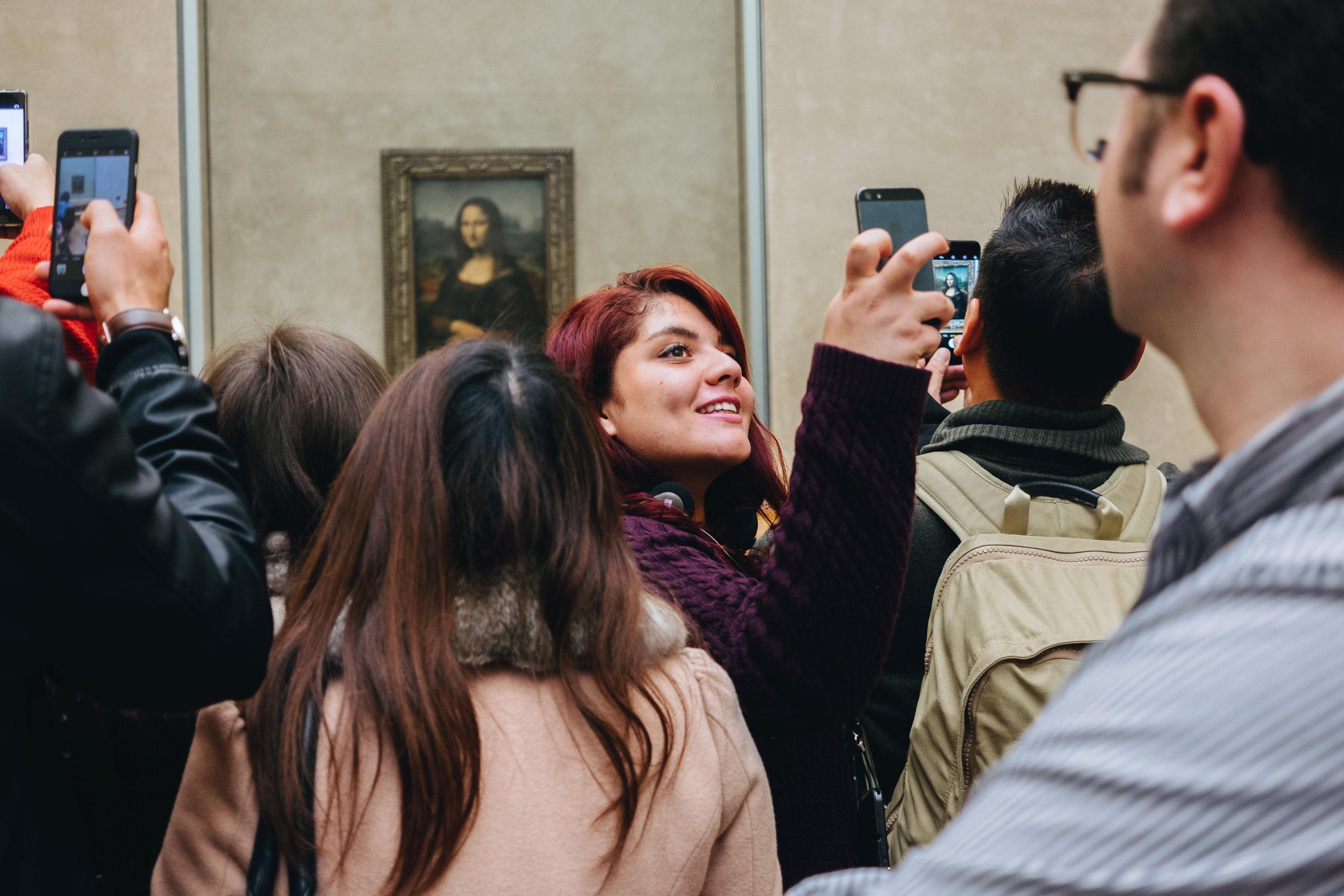 Mona Lisa, The Louvre; Paris, France