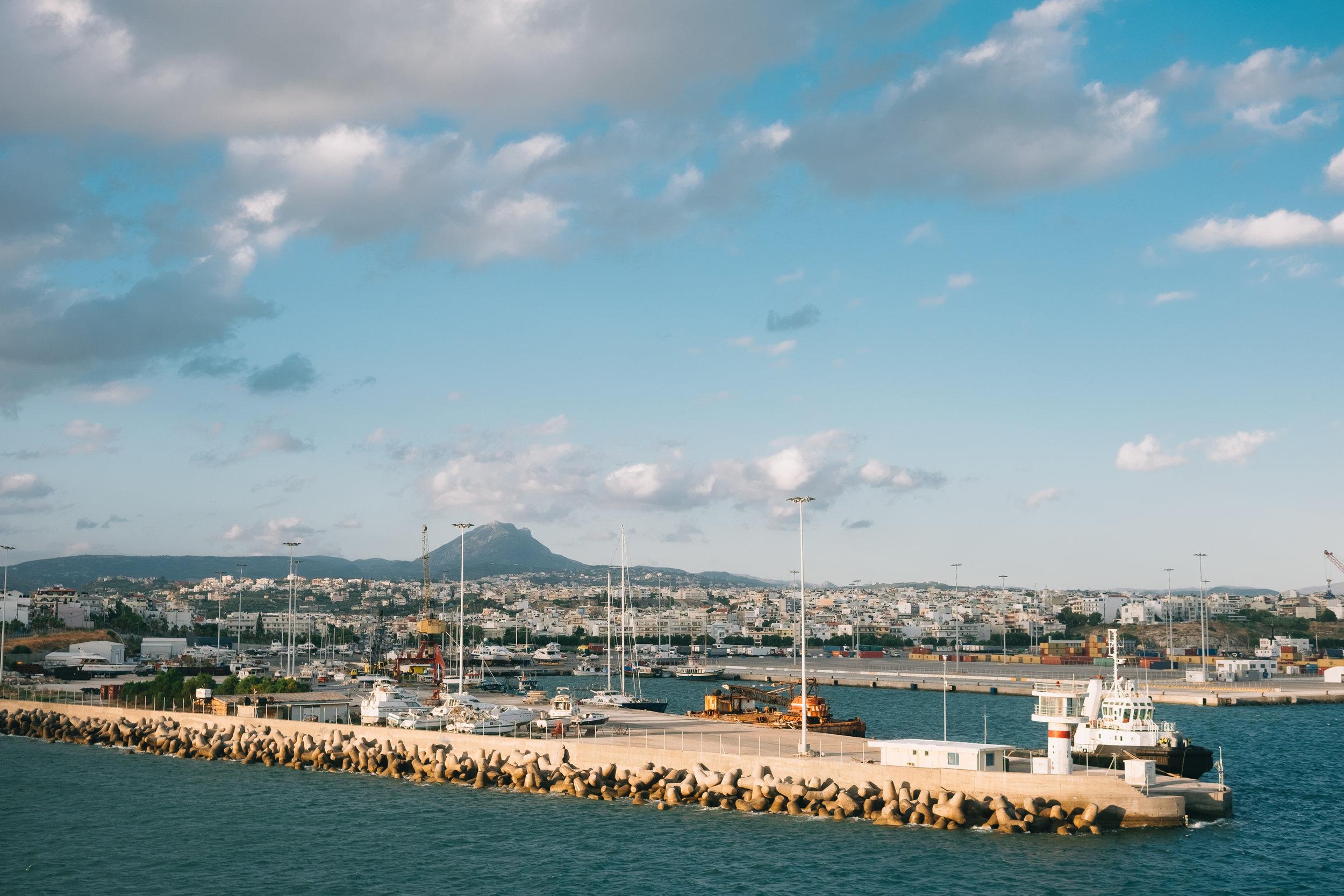 Heraklion coast
