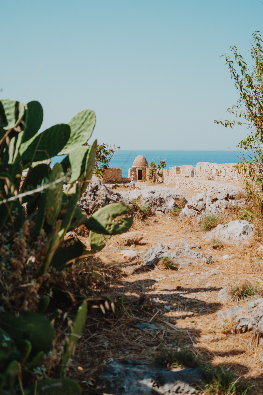 Rethymno fortress portrait