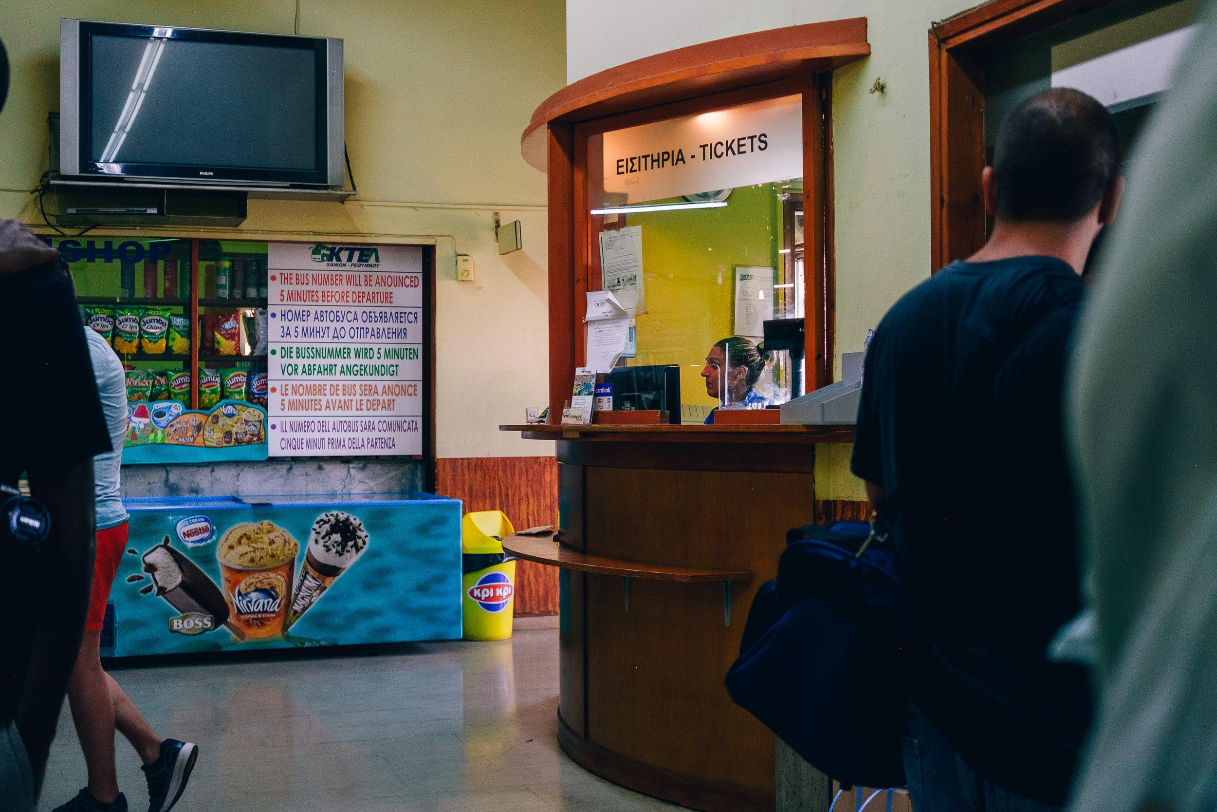 Rethymno bus station