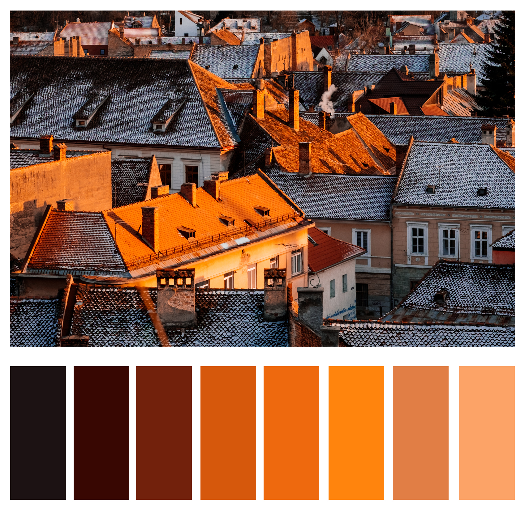 Figure 1b: Strong secondary colors often add interest and can easily become a subject on their own.