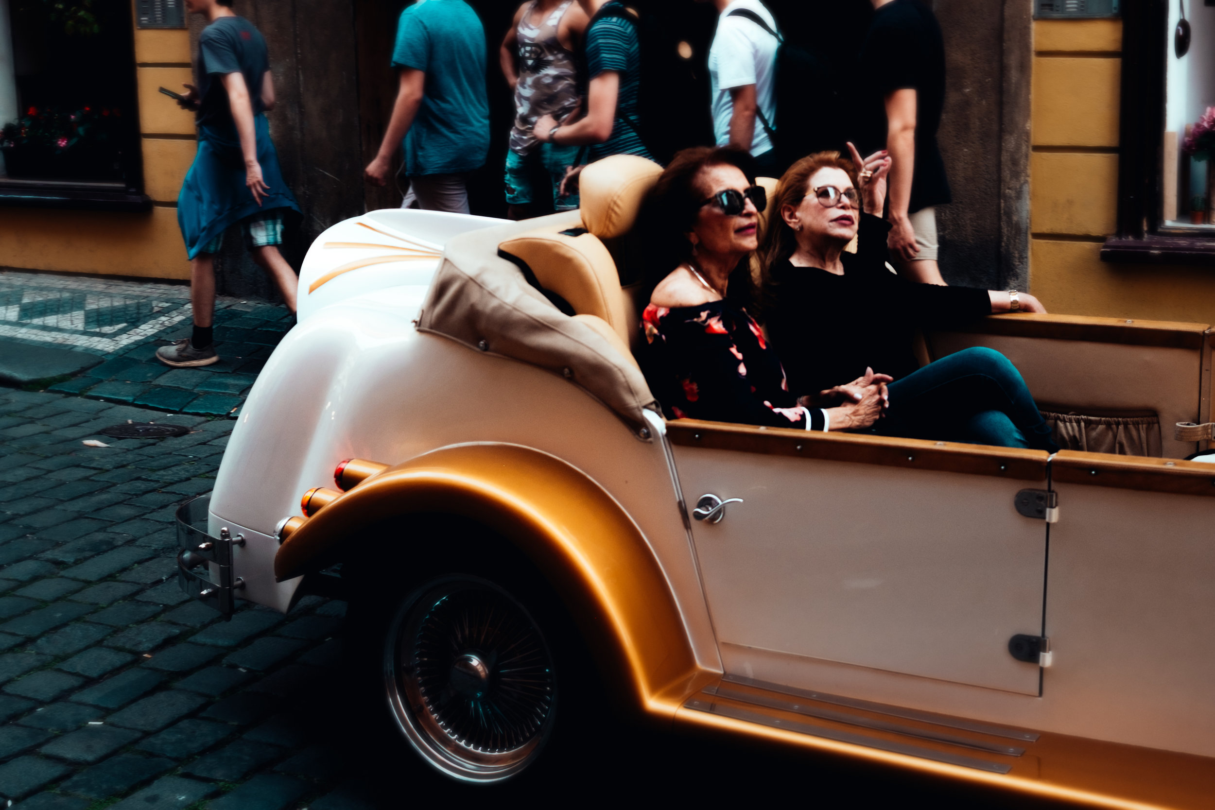 Old Car Tours - Prague Street Photography