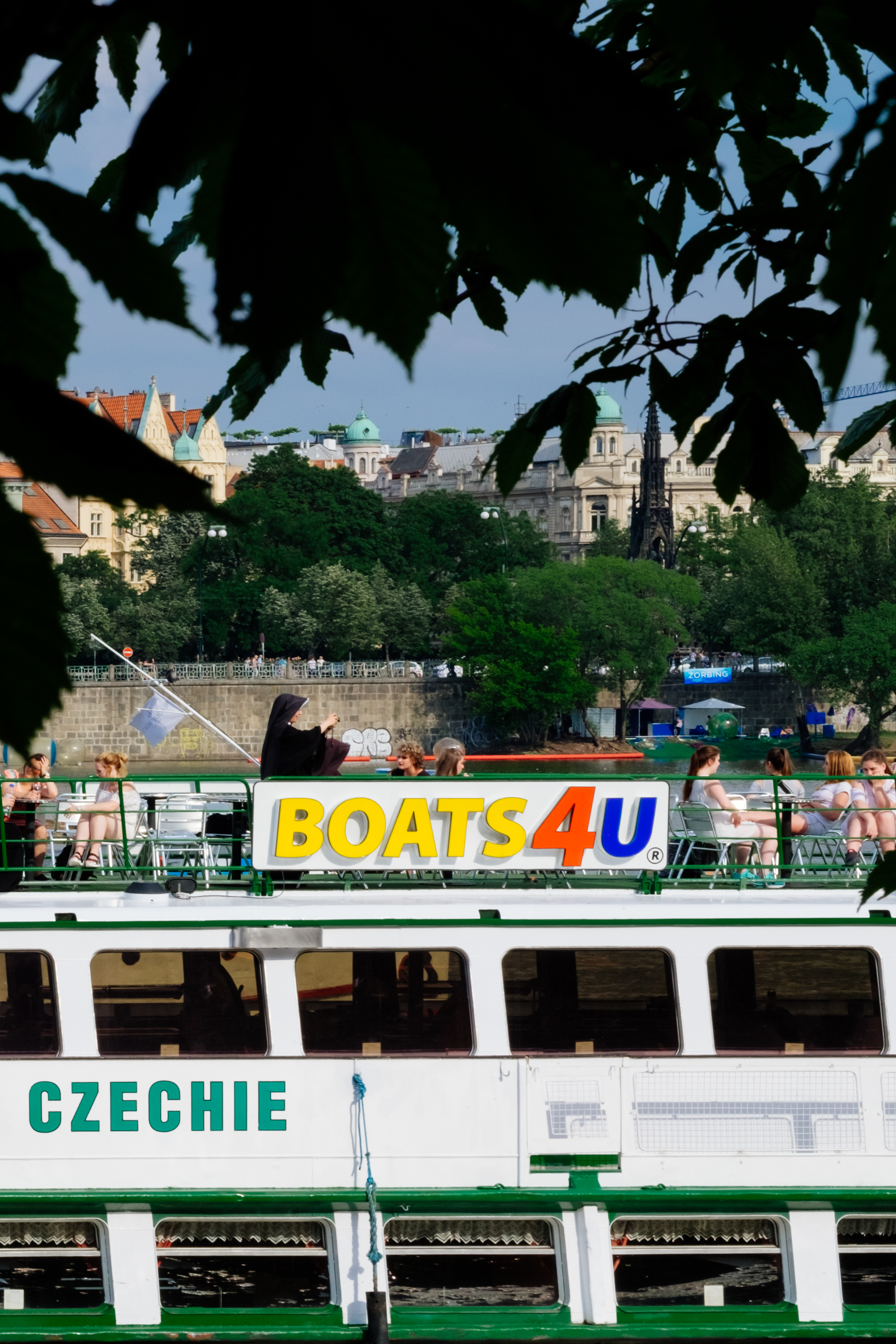 Boats 4 Nuns - Prague Street Photography