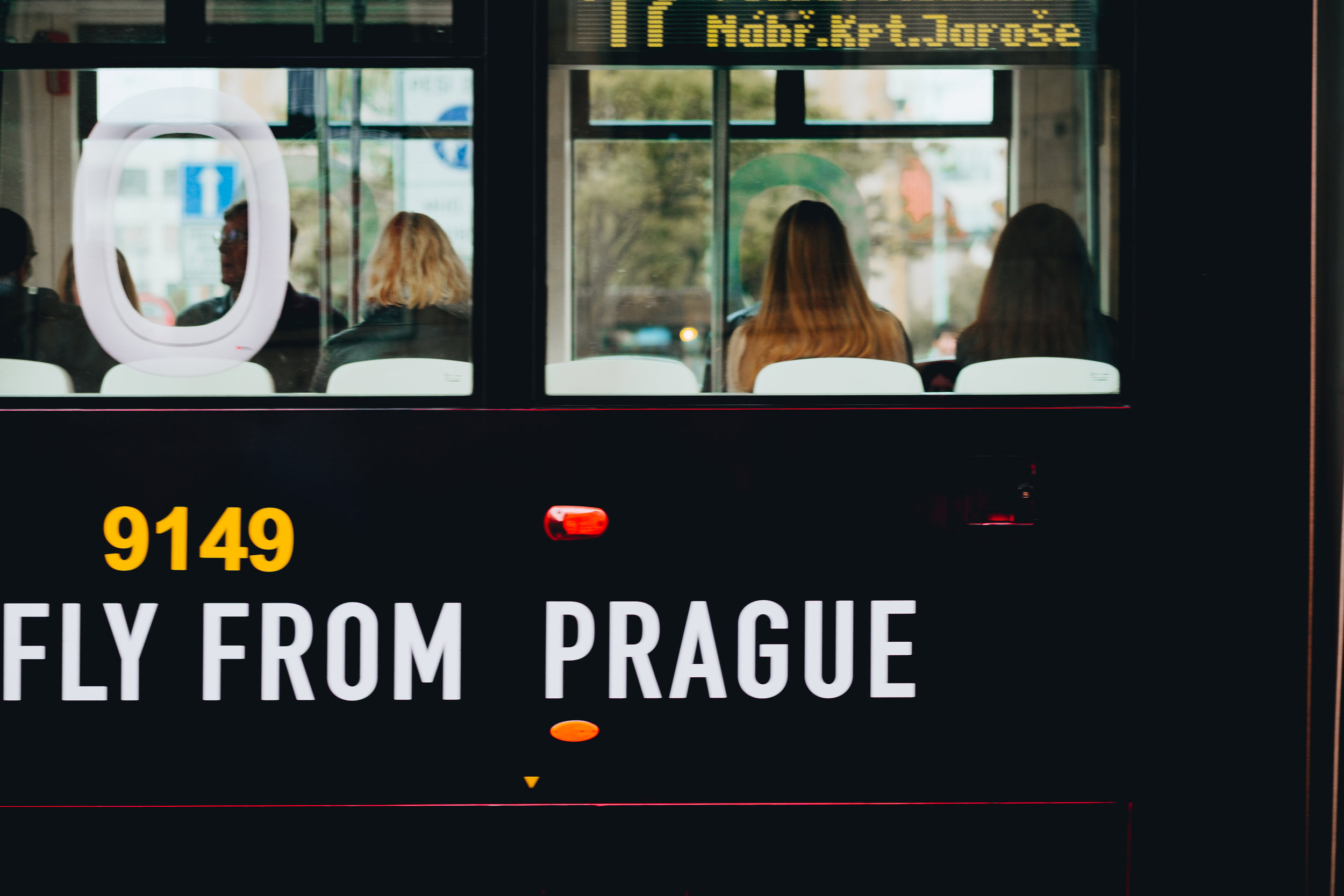 Fly from Prague - Prague Street Photography