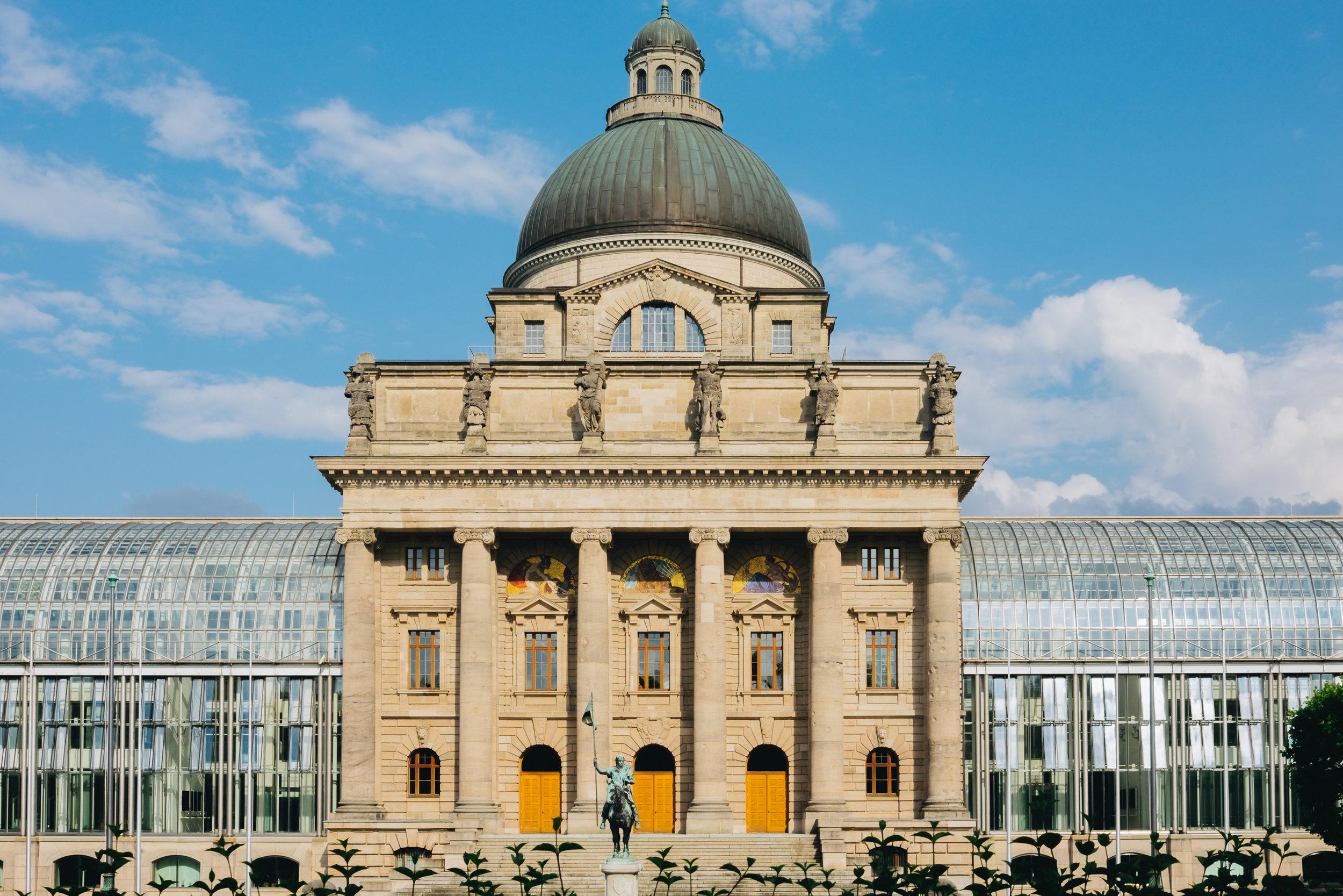 Bayerische Staatskanzlei münchen munich