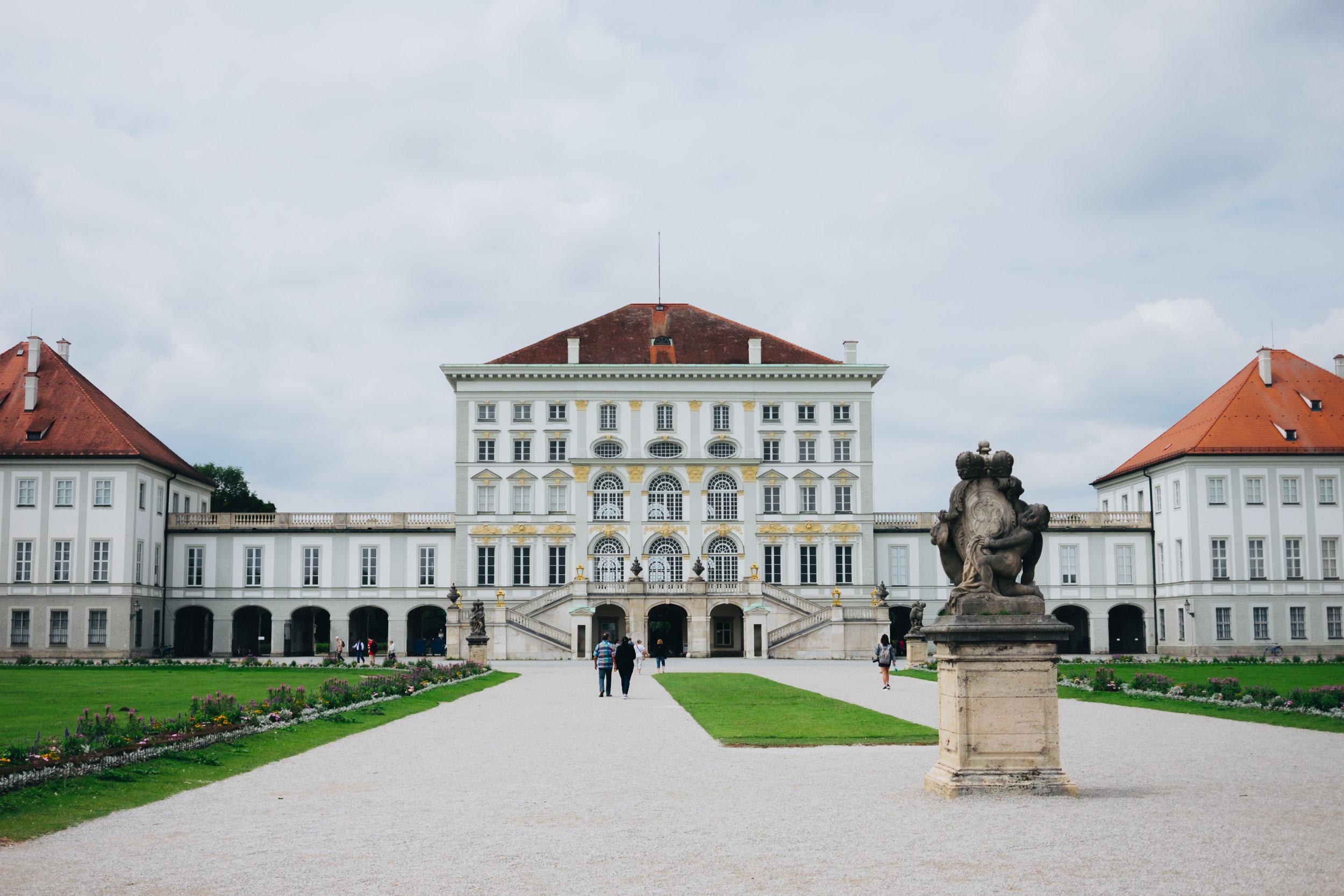 Nyphemburg Schloß palace munich münchen